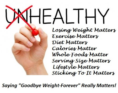 Saying Goodbye Weight-Forever